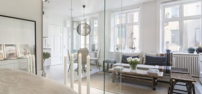 Стеклянные перегородки в квартире — основные виды и конструкции