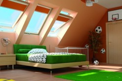 Окна Факро — отличное решение для естественного освещения мансарды