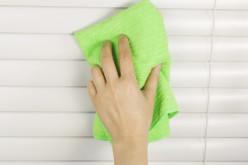 Различные способы помыть горизонтальные жалюзи