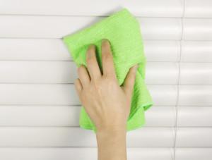 Как вымыть жалюзи