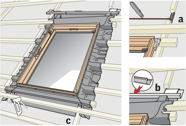Гидроизоляция мансардного окна