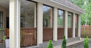 Мягкие окна для летних кафе