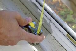 Как замерить проем под окно
