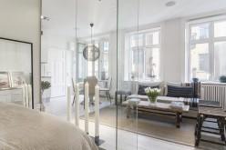 Межкомнатные стеклянные перегородки как элемент зонирования пространства