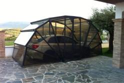 Революционная разработка итальянских инженеров GazeBox 3 в 1: навес, гараж и летняя веранда