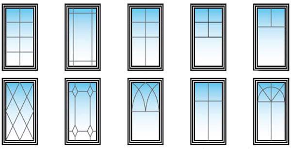 Раскладка для стеклопакета