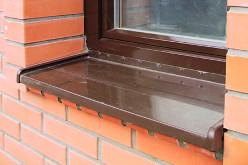 Как установить отлив на окно: подробная инструкция